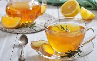 Чай с имбирем — польза и вред
