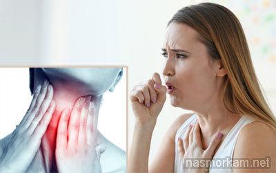 Почему чешется горло и появляется кашель, причины и способы лечения