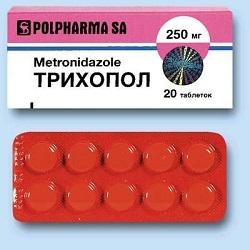 Инструкция по применению для препарата Трихопол