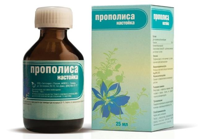 Спиртовая настойка прополиса: лечебные свойства и противопоказания