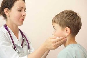 Болят лимфоузлы на шее у ребенка