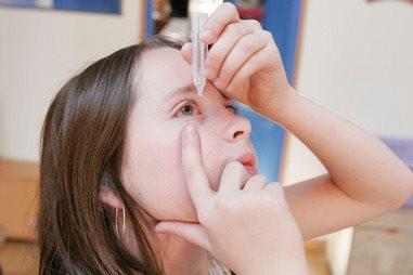Хронический конъюнктивит у ребенка