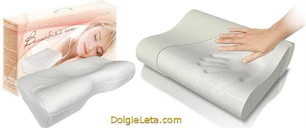 Как выбрать ортопедическую подушку для правильного образа жизни