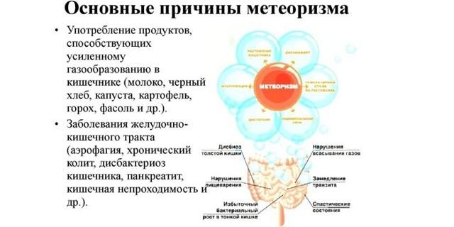 Причины и способы лечения метеоризма у взрослых