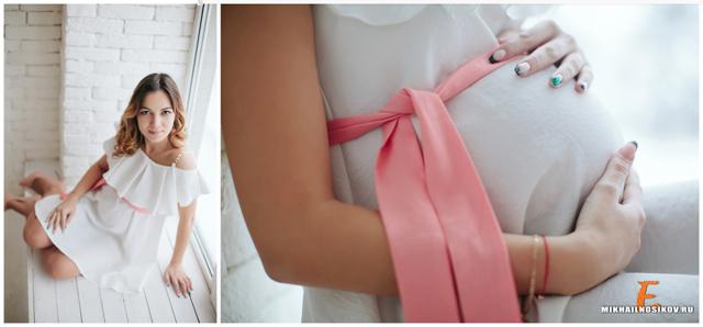 Модные идеи для фотосессии беременных