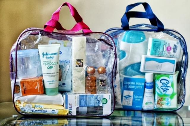 Собираем сумку в роддом для мамы и малыша