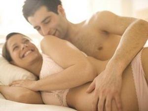 Секс в первые недели беременности