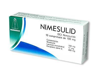 Препарат Нимесулид: инструкция по применению